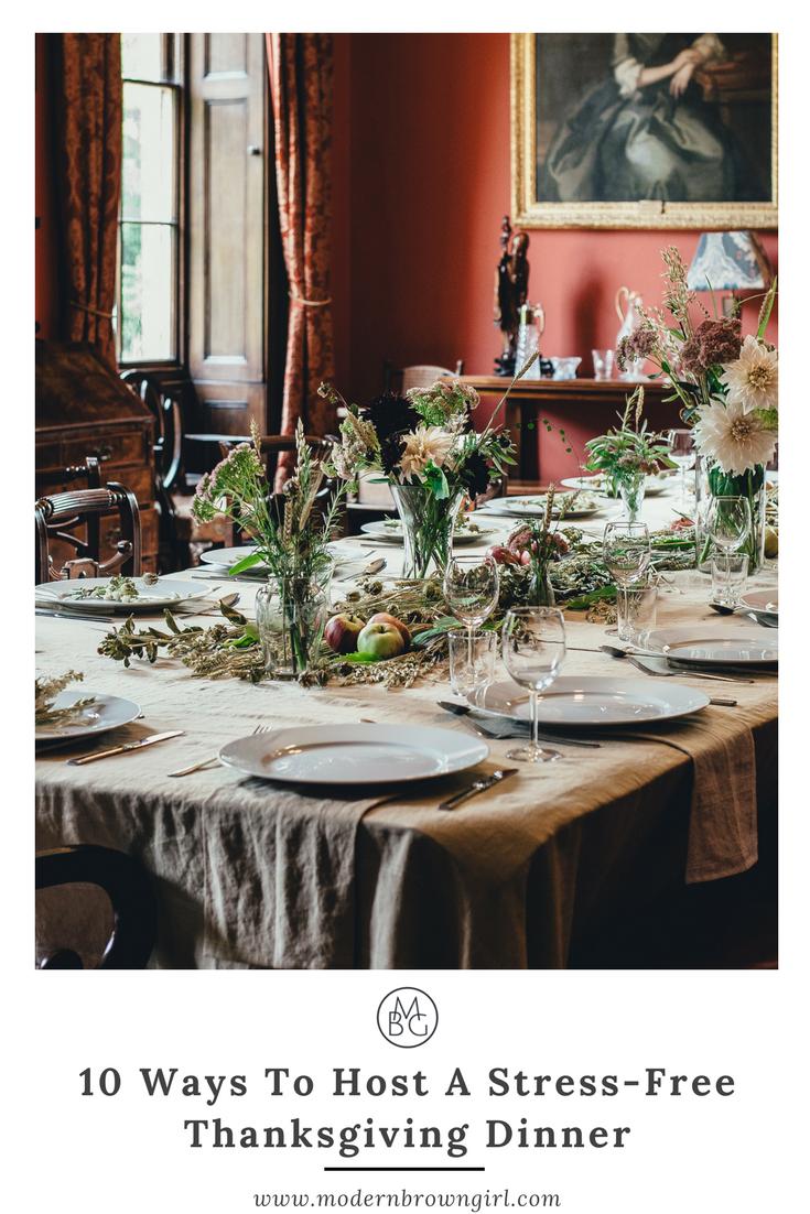 How To Host Thanksgiving Dinner