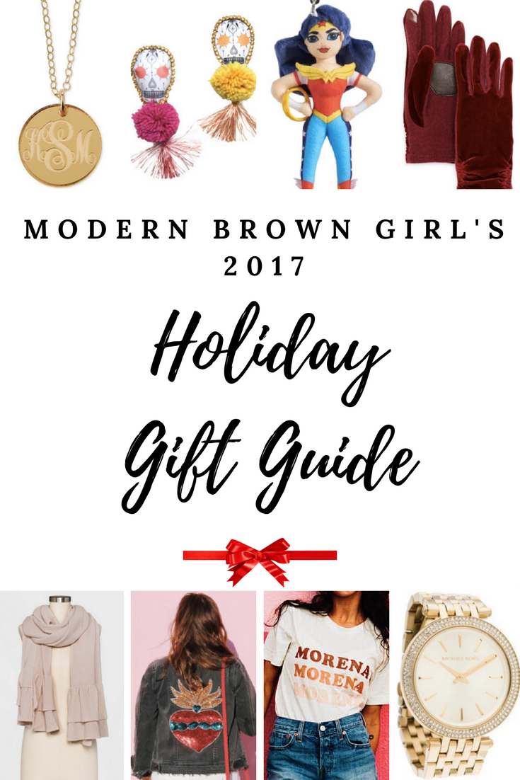 Modern Brown Girl's Holiday Gift Guide