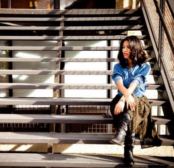 Yanira Garza,Beauty & Style Editor - Image Source: Brissa Hanzel, Breeze Art Creatives