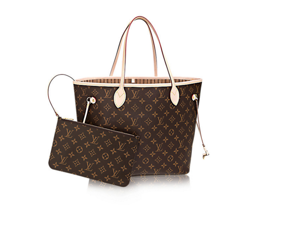 - LOUIS VUITTON NEVERFULL MM, $1,260