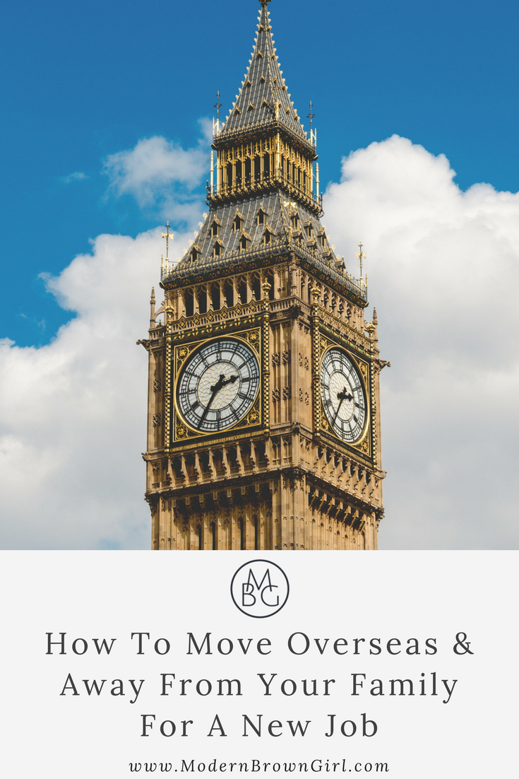 How to move overseas for a new job