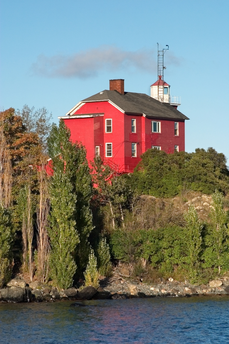 Lighthouse in Marquette, Michigan