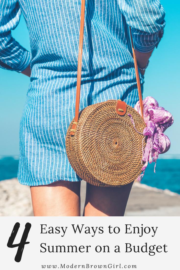 4 easy ways to enjoy summer on a budget