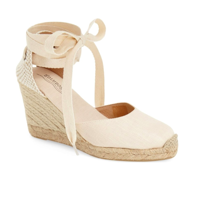 2. Wedge Lace-Up Espadrilles - $94.95