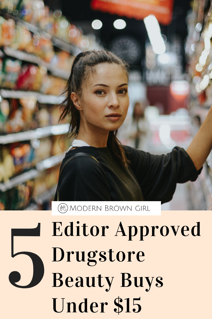 5 Drugstore Beauty Buys for Under $15