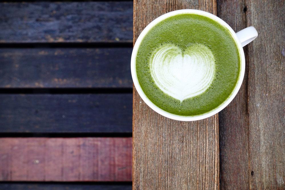Matcha tea supplements