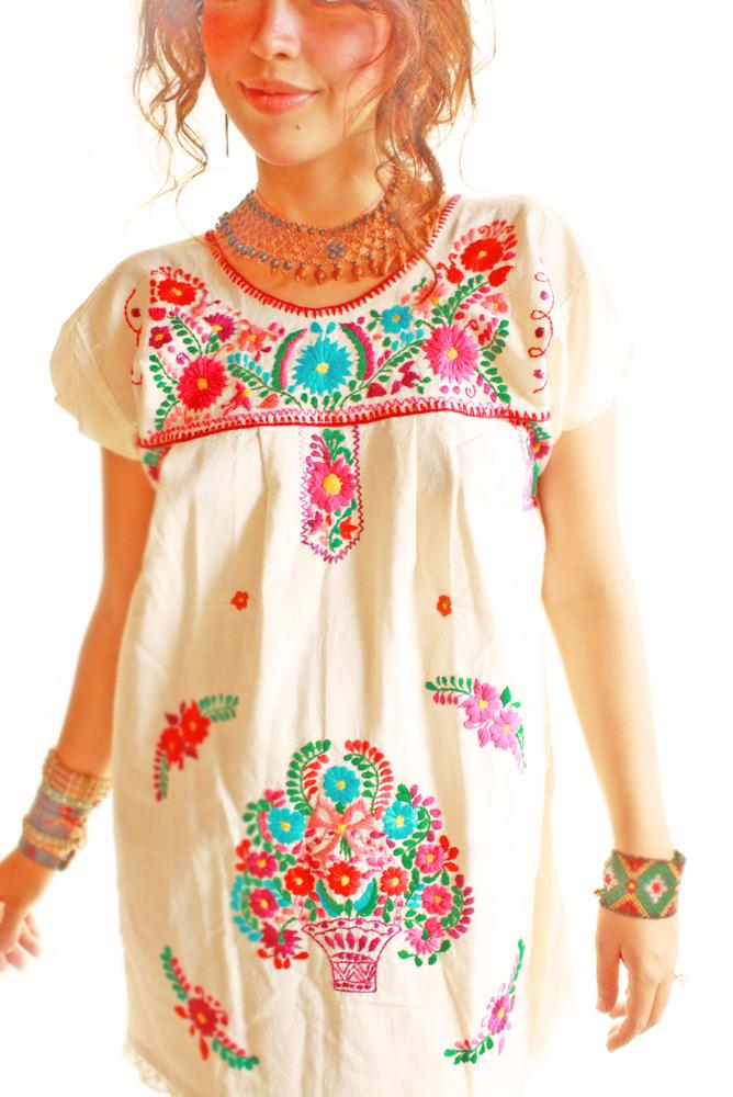 1. Aida Coronado - Las Florecitas Mexican Dress