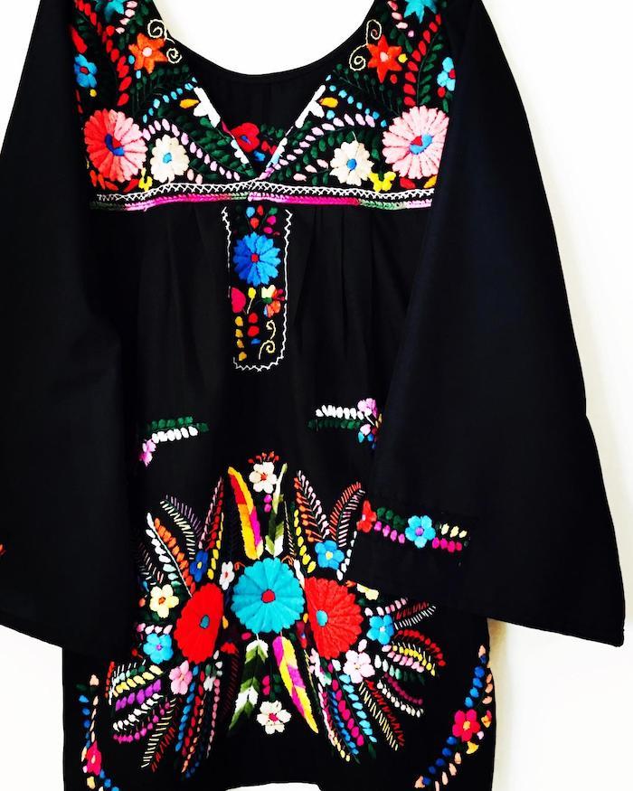 2. Aida Coronado - Woodstock Mexican Dress