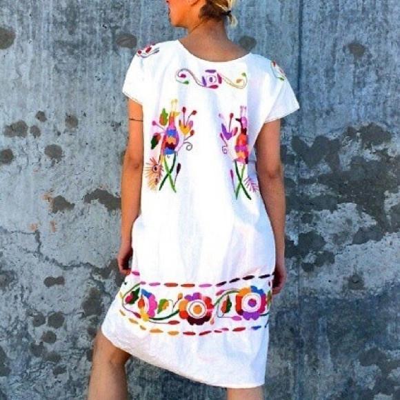 7. Cielito Lindo - Cuernavaca Embroidered Dress