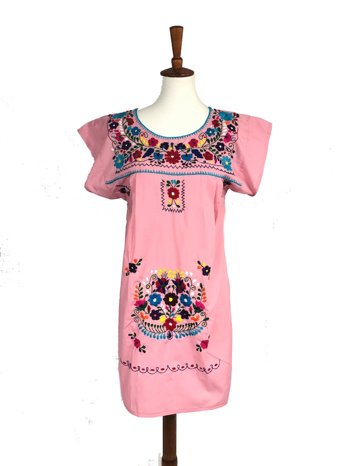 8. Bonita Boutique - Boho Embroidered Dress