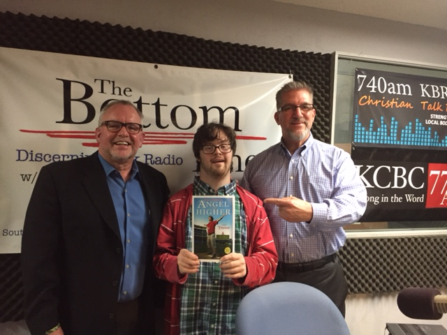 Robert and Trevor Hendershot were interviewed by Roger Marsh on The Bottom Line Show, which was broadcast to a live audience of over two hundred thousand listeners.  Robert and Trevor helped celebrate World Down Syndrome Day, discussed their new book, Angel for Higher, and described their vision to transform the pro-life, special needs culture of the world...one sports stadium at a time.