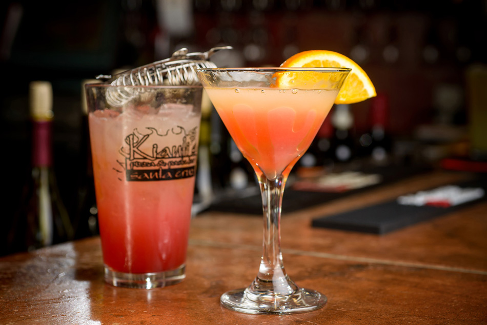 drink menu - explore our signature cocktails and our happy hour menu.