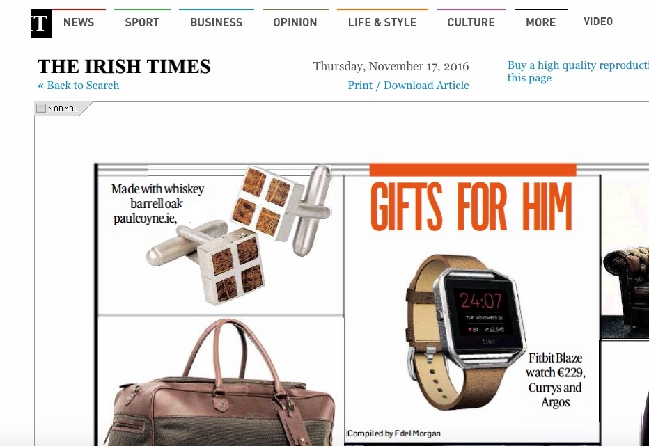 Irish Times Christmas Gift Guide