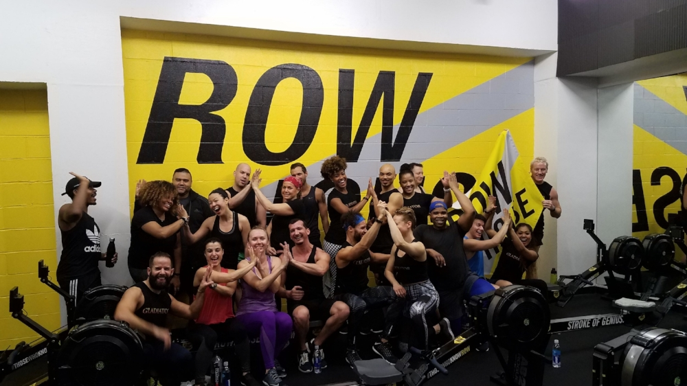 Those who know row and go beyond! Gladiators train together and have fun while doing it!