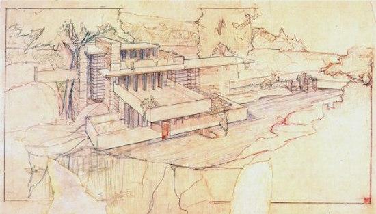 FRANK LLOYD WRIGHT   L'architecte Frank Lloyd Wright donna le même nom à chacun de ses carnets : Makumaku (il les différenciait simplement en les numérotant). Dans sa vaste collection de notes personnelles, M. Wright couchait sa vision sur papier, les esquisses de chaque projet. Il avait pour habitude de dessiner d'abord les plans du bâtiment lui-même, puis de lister sur les pages suivantes toutes les idées possibles pour que le design et l'architecture ne fassent qu'un. Ce génie un peu fou pensait à tout. À chaque meuble, à la forme des napperons et des couverts, à la source de lumière dans laquelle les roses du jardin viendraient baigner. Un peu comme une belle histoire, une histoire qui s'enrichit en étoffant son propre fil, une histoire qui pénètre chacune des cellules de tout être humain, de la tête aux pieds en passant, bien sûr, par le cœur.   Makumaku. Des histoires pour nourrir l'esprit.