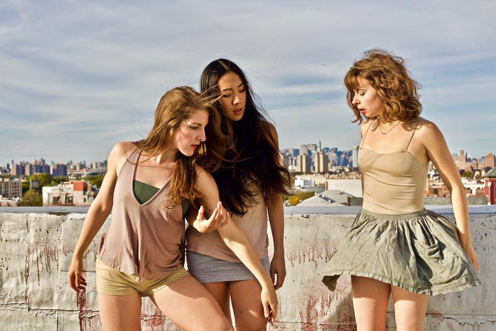 Tiffany Mangulabnan, Jordan Miller, Amy Saunder of konverjdans