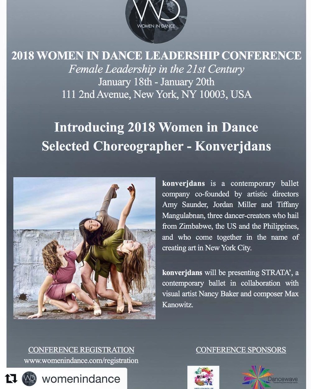 konverjdans at Women in Dance 2018