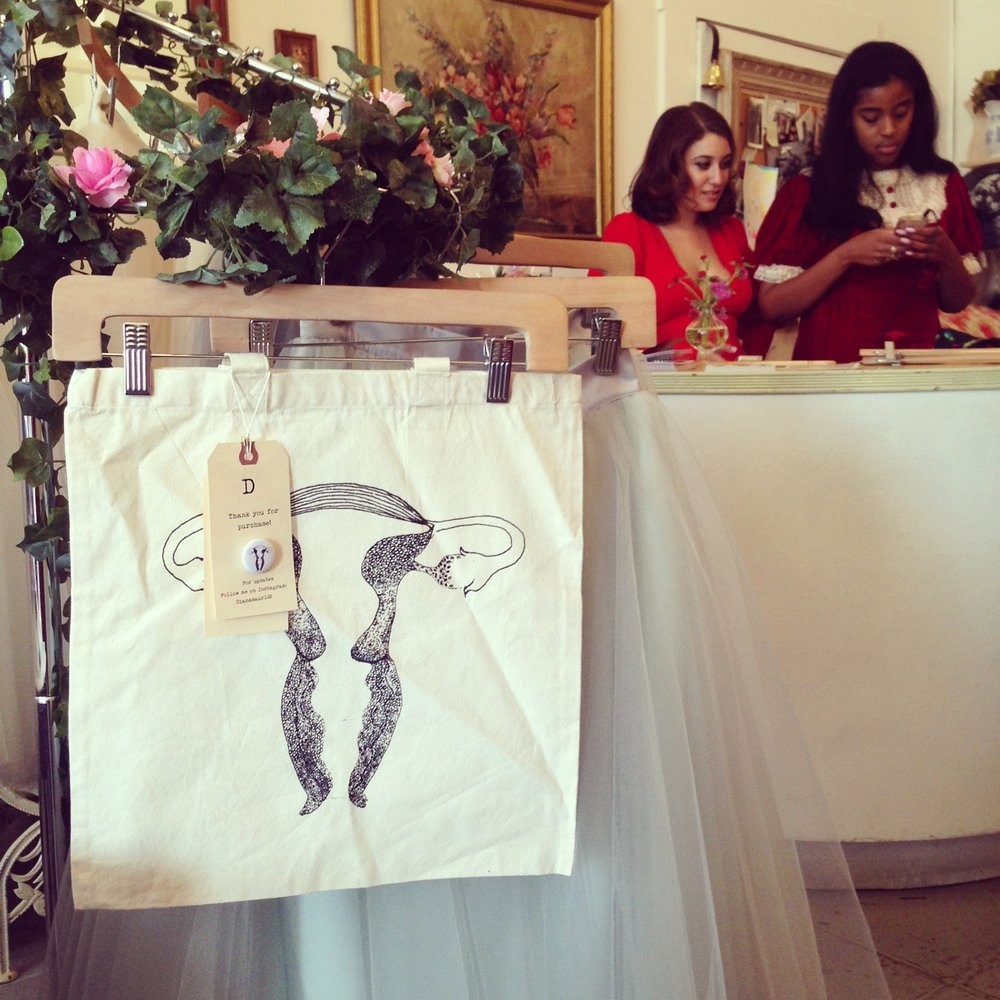 In Utero bags now available at The Loved One in Pasadena!