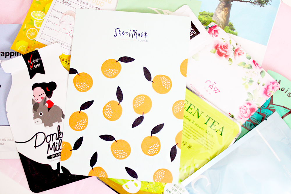 Sheet Mask Squad August Box