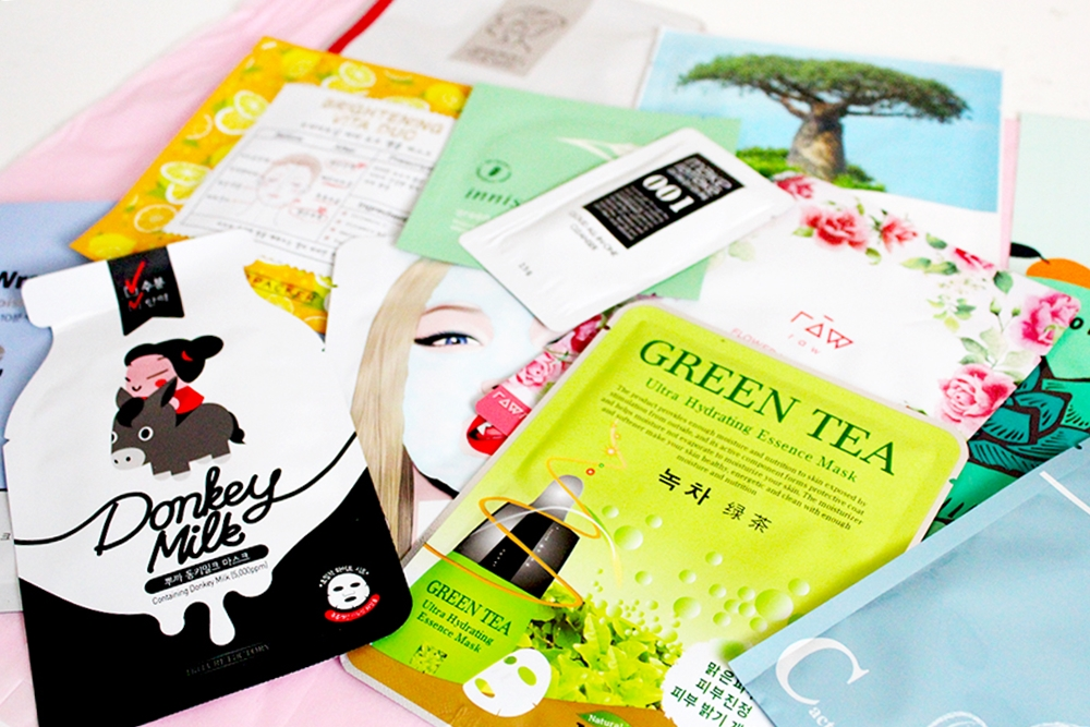 Sheet Mask Squad August Box korean skincare
