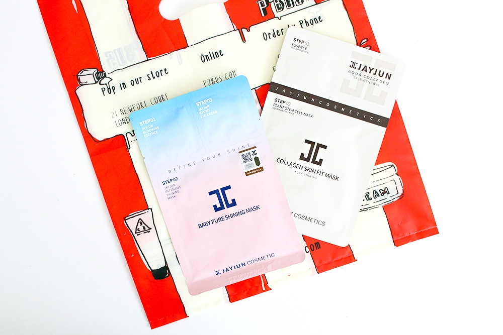 Beauty trends step sheet masks jayjun