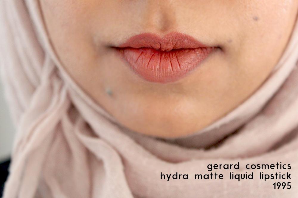 gerard cosmetics hydra matte lipstick 1995