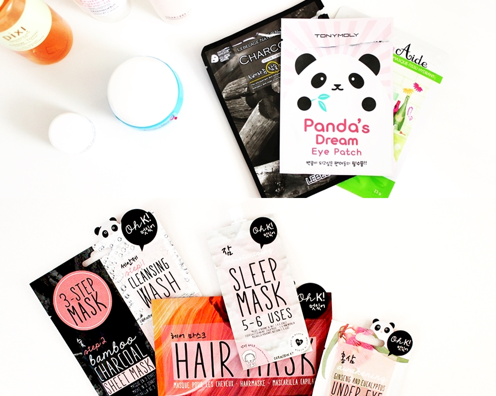 The Gift Guide For Skincare Lovers stocking fillers and secret santas. Sheet masks.