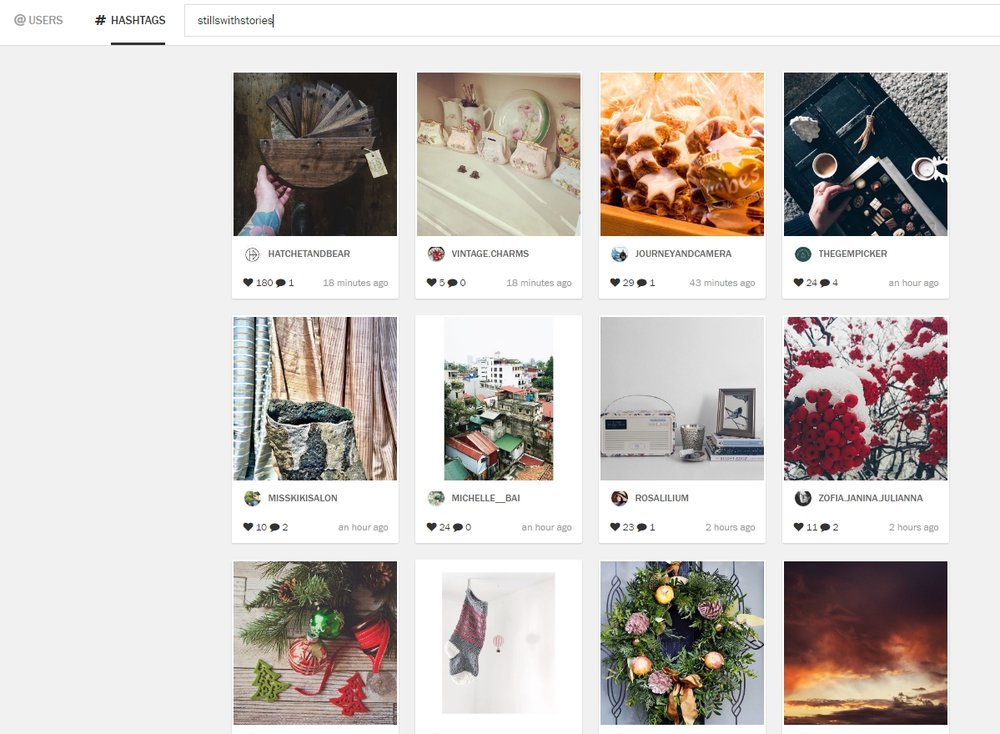 Planoly Discover page