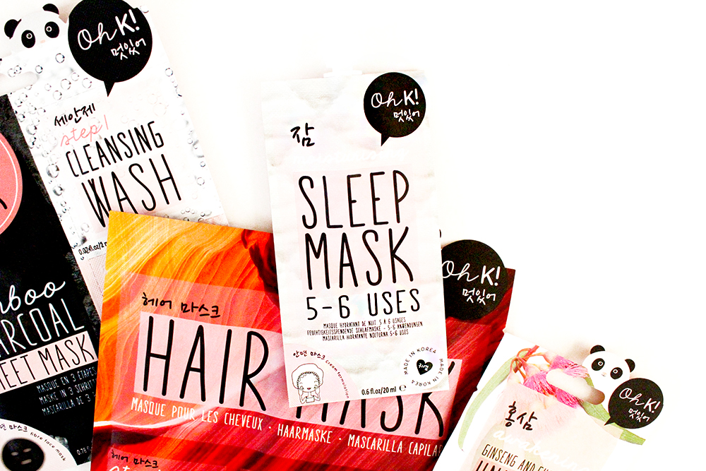 Super Adorable Korean Inspired Skincare From OH K! Overnight Sleep Mask