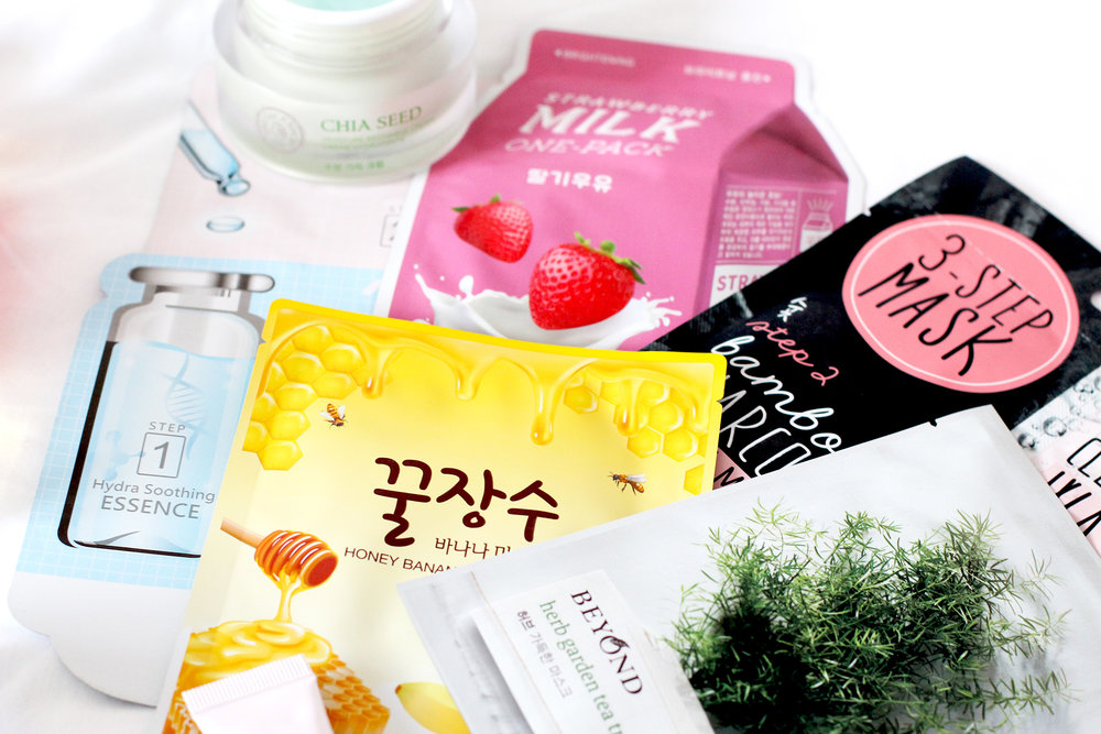 Top 6 Skincare Products Of 2016 Sheet Masks