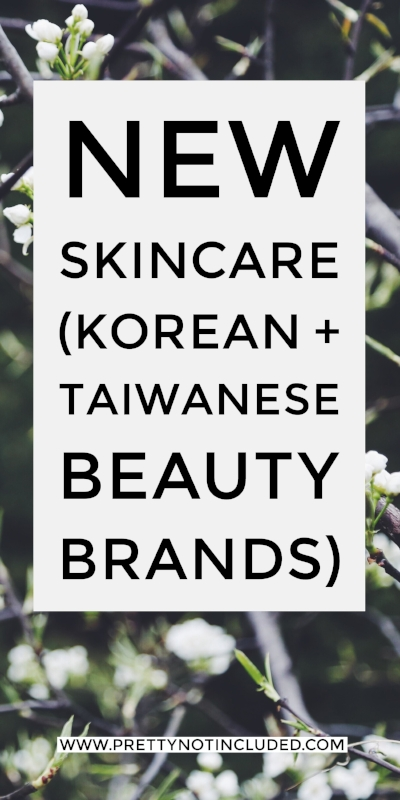 New Year, New Skincare. Featuring Korean and Taiwanese beauty brands Make P:rem, W Lab and Naruko. Starting off a new year with a fresh skincare routine.