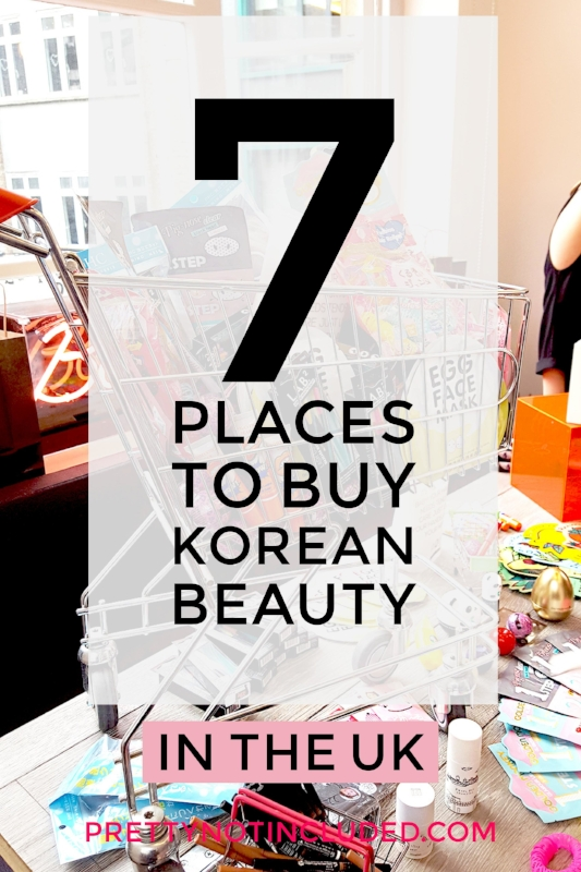 7 Places to Buy Korean Beauty in the UK