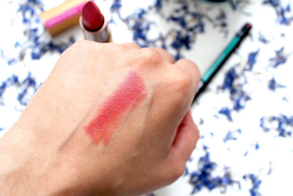 A Day To Night Transition With ZAO's Organic Eco Luxe Makeup Matte Lipstick Swatch