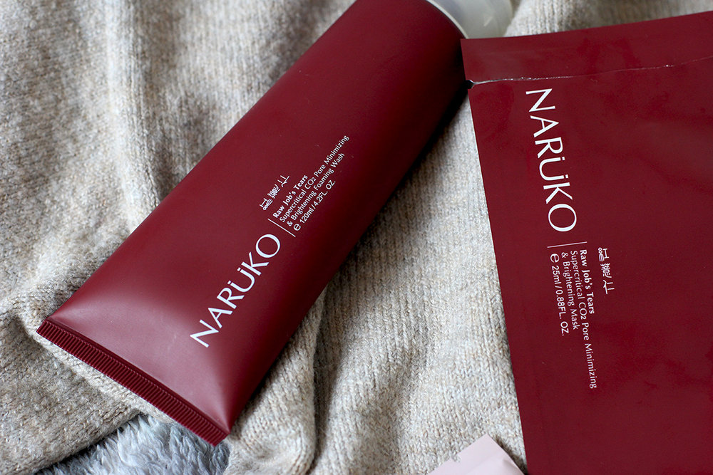 Discovering Taiwanese Skincare With Naruko Raw Job's Tears Line