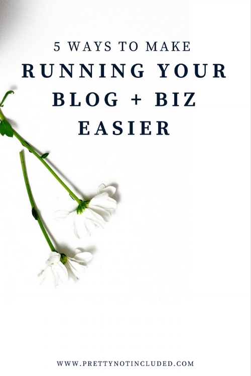 5 ways to make running your blog or biz easier. From automation tools like Tailwind and Buffer to the best free photo editing apps, virtual editors and unique stock photography.