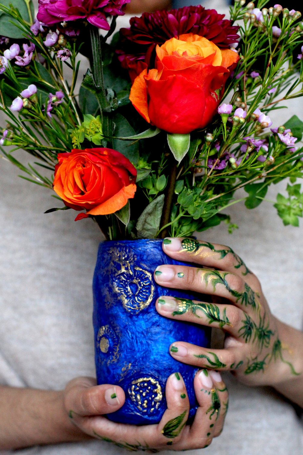 embracing the seasonal shift autumn mornings bloom and wild nikki tibbles vase by suhaylah