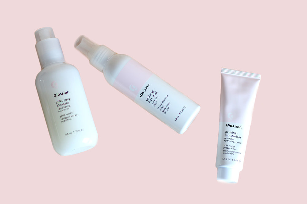 glossier skincare milky jelly cleanser review