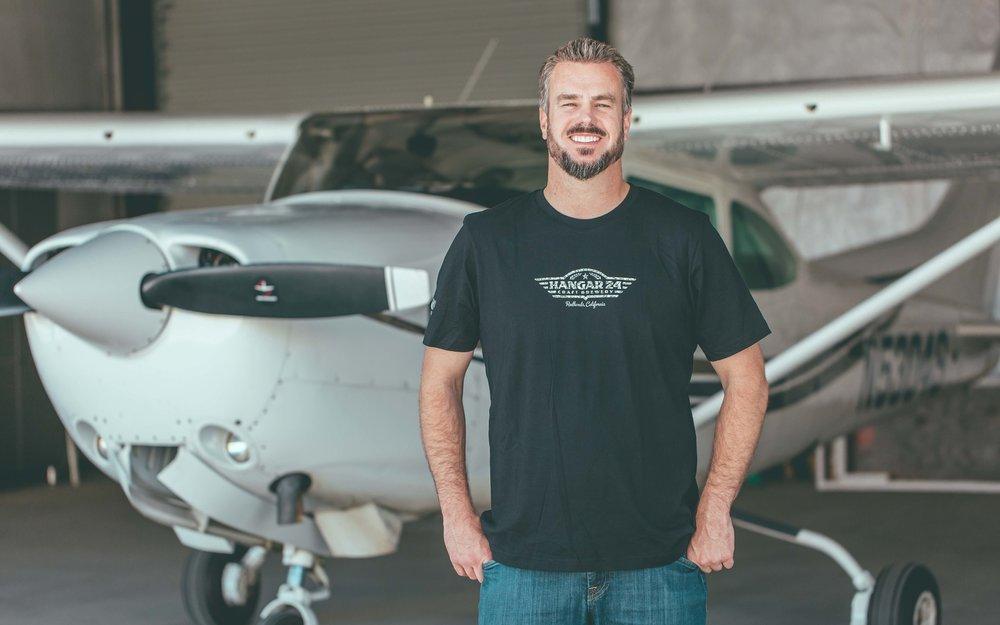 Hangar 24 Brewery Owner, Ben Cook.