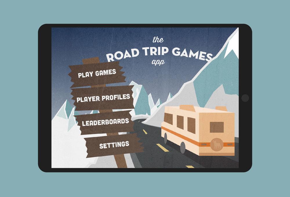 Road Trip Games App