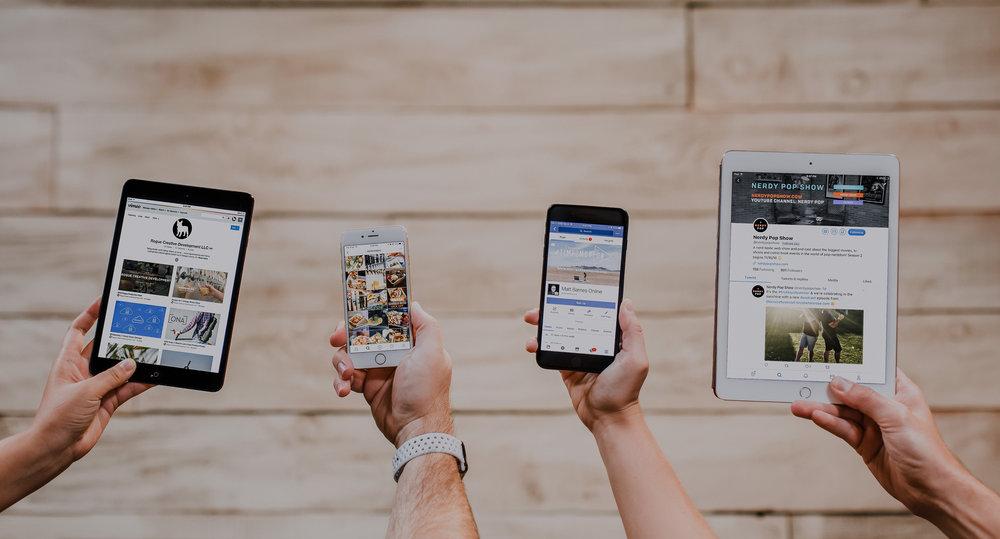 New Social Media Membership Plans   Social Media Marketing Made Easier   View the Plans