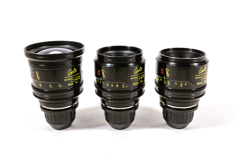 Cooke Mini S4i Lens (Pick 1) -