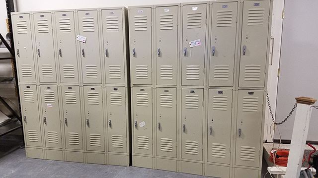 These lockers are a project waiting to happen! They can be found in our Tacoma and Puyallup stores this week - just $150 for each set of 10 lockers! #habitatstorescore #thriftstorefind #habitatforhumanity