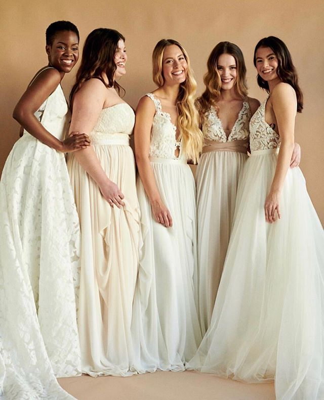 The gang's all here 💃🏻 • The @truvellebridal trunk show is unpacked and ready for all our brides this weekend. 💕 • We still have a few spots available, DM or call us to book an appointment, we can't wait to meet you ! ❤️ • #trunkshow #canadiandesigner #madeinBC #madeinCanada #truvellebridal #bride #bridal #weddings #weddinggowns #bridalfashion #sayyestothedress #engaged #marriage #ottawa #bridalboutique #yowbride #ottawaweddings #wellingtonwest #revellebride #revellebridal #revelleweddings . . . Photo courtesy of @lovenotebride / @truvellebridal
