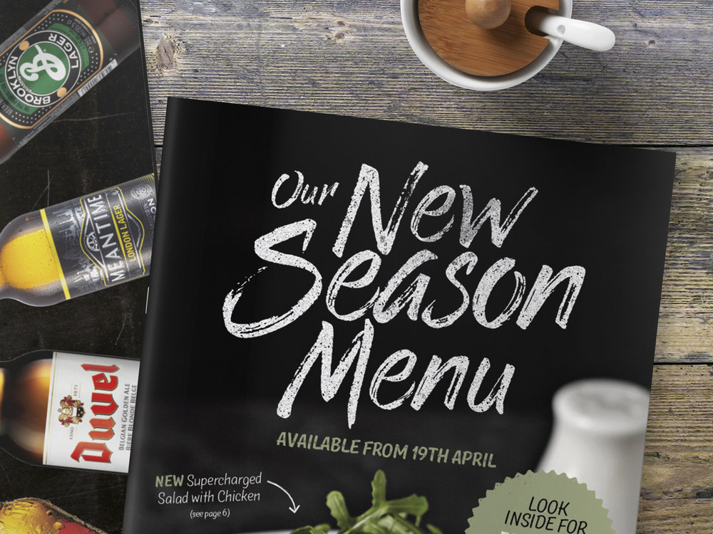 Spirit Pub Group Spring Menu Campaign