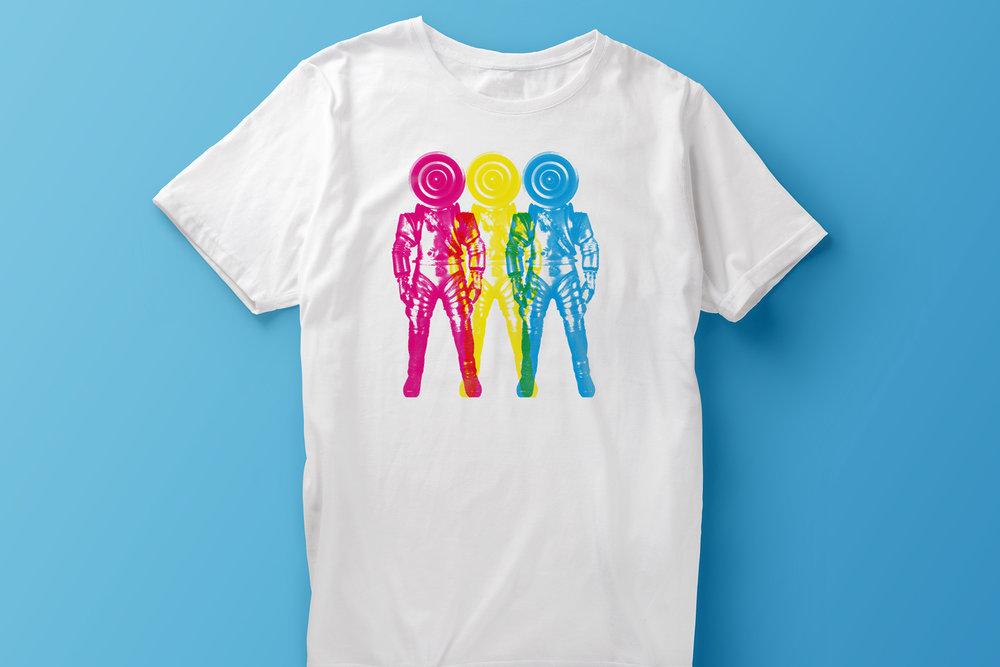 Spacemen 3 T-shirt Design