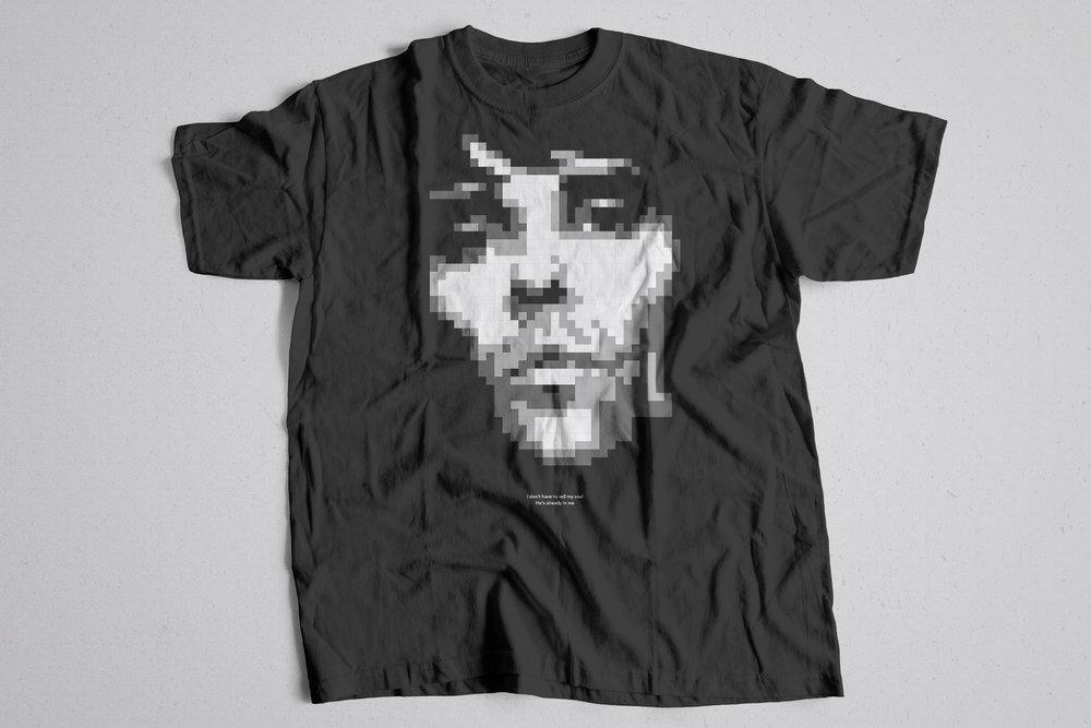 Ian Brown T-shirt Design