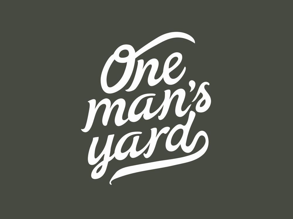 One Man's Yard Logo