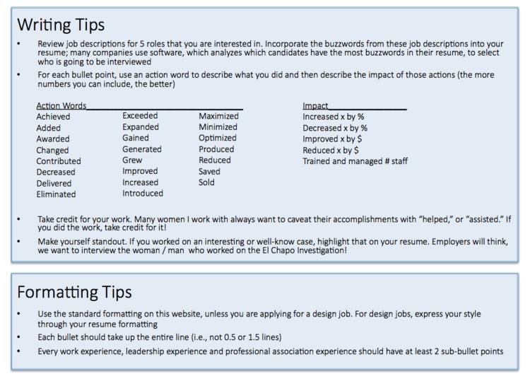 screen shot 2018 06 02 at 103416 ampng - Resume Formatting Tips