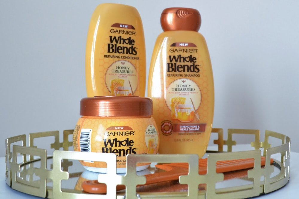 Just Being Britt Brittany Jenkins Fitness Garnier Whole Blends Honey Treasures Review
