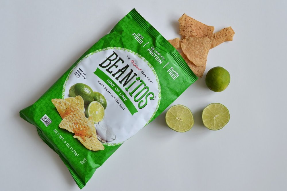 Just Being Britt JustBeingBritt Beanitos Hint of Lime Bean Chip Review